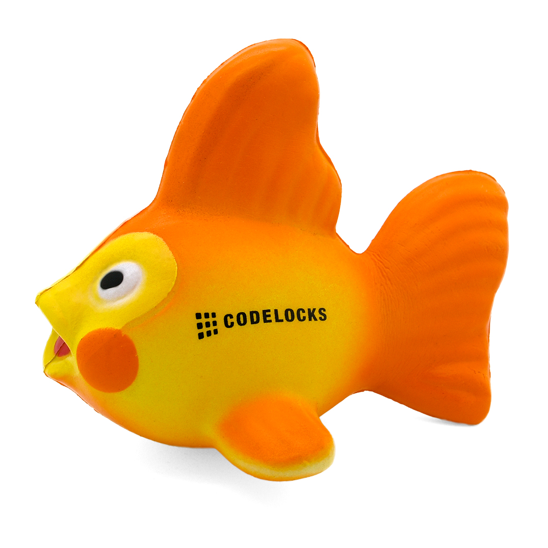 Goldfish Stress Ball Side View