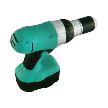 Power Drill Stress Shape Top View