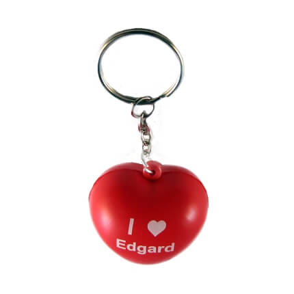 Heart Keyring Top