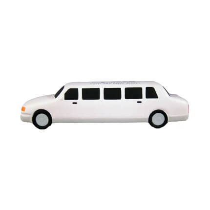 White Limo Side View