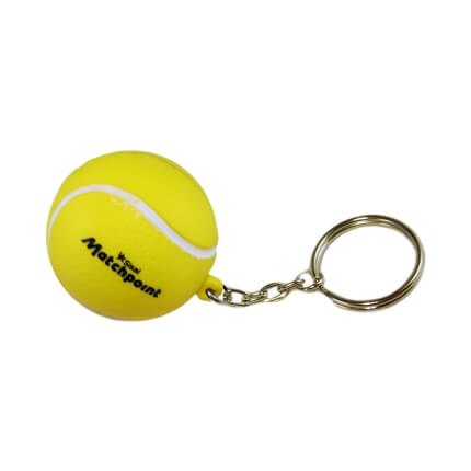Tennis Keyring Side