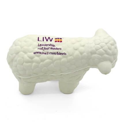 Sheep Stress Ball Aerial View