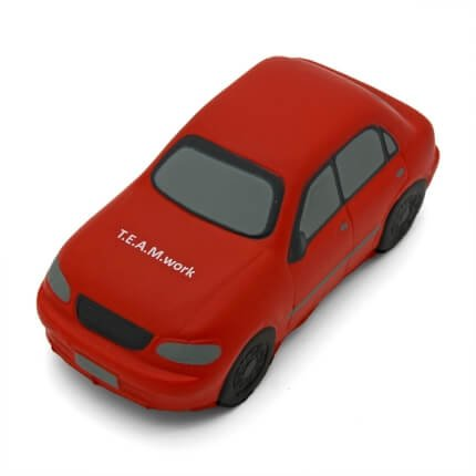 Stress Saloon Car Red