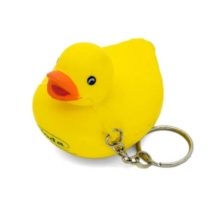 Duck Stress Keyring Aerial View