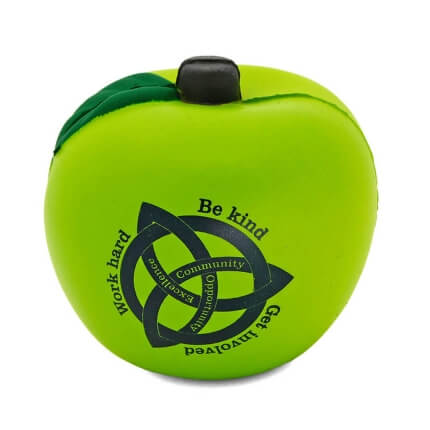 Light Green Apple Stress Ball
