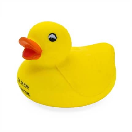 Duck Stress Ball Side View