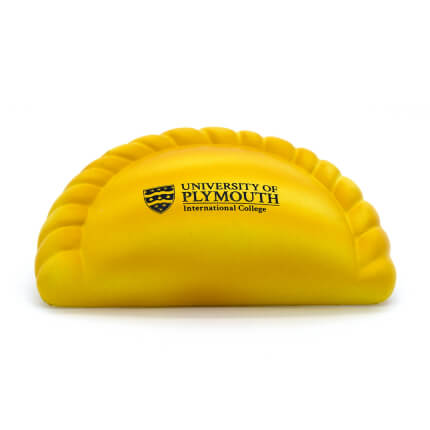 Cornish Pasty Stress Ball Lower Front View