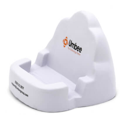 Cloud Phone Holder Stress Ball Side View
