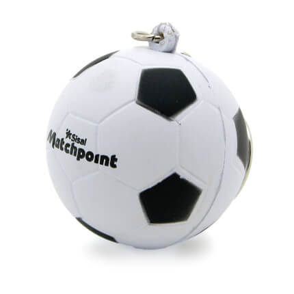 Football Keyring Side View