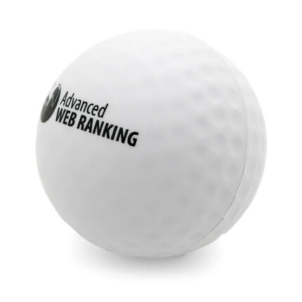 Golf Ball Side View