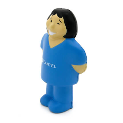 Female Nurse Stress Ball Side View