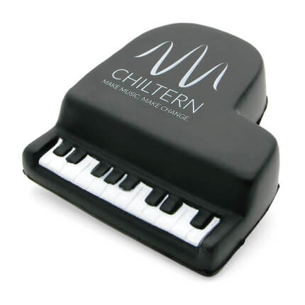Piano Stress Ball Alternate Front View