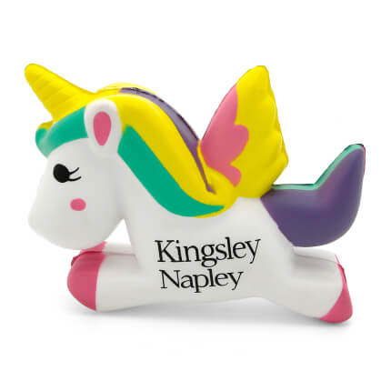 Unicorn Stress Ball Side View