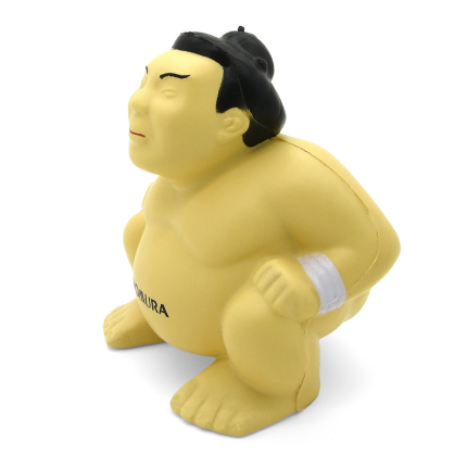 Stress Sumo Wrestler Side View