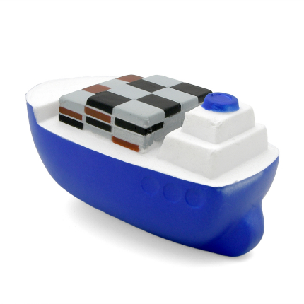 Container Ship Stress Ball Rear Stern View