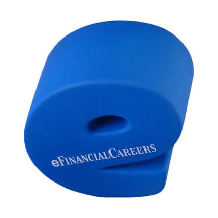 e stress ball top view