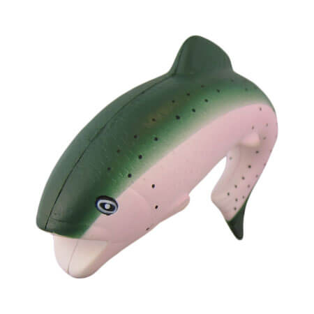 Trout stress toy shape