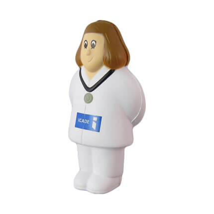 Female Doctor Stress Toy