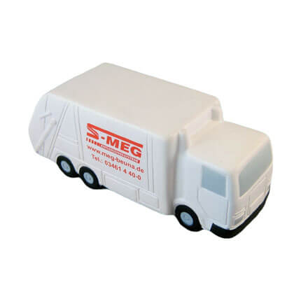 Recycling Lorry Stress Ball Front View
