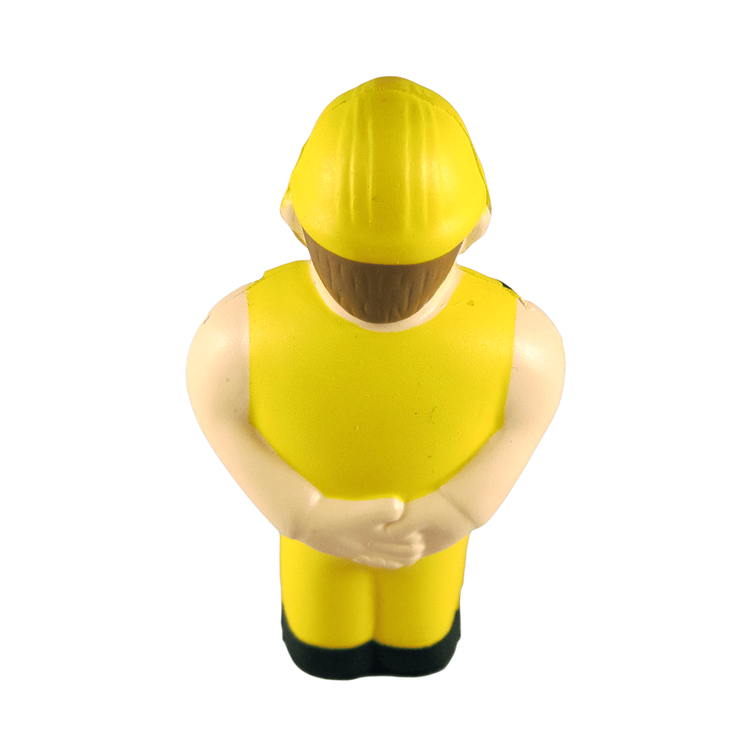 Construction Worker Back View