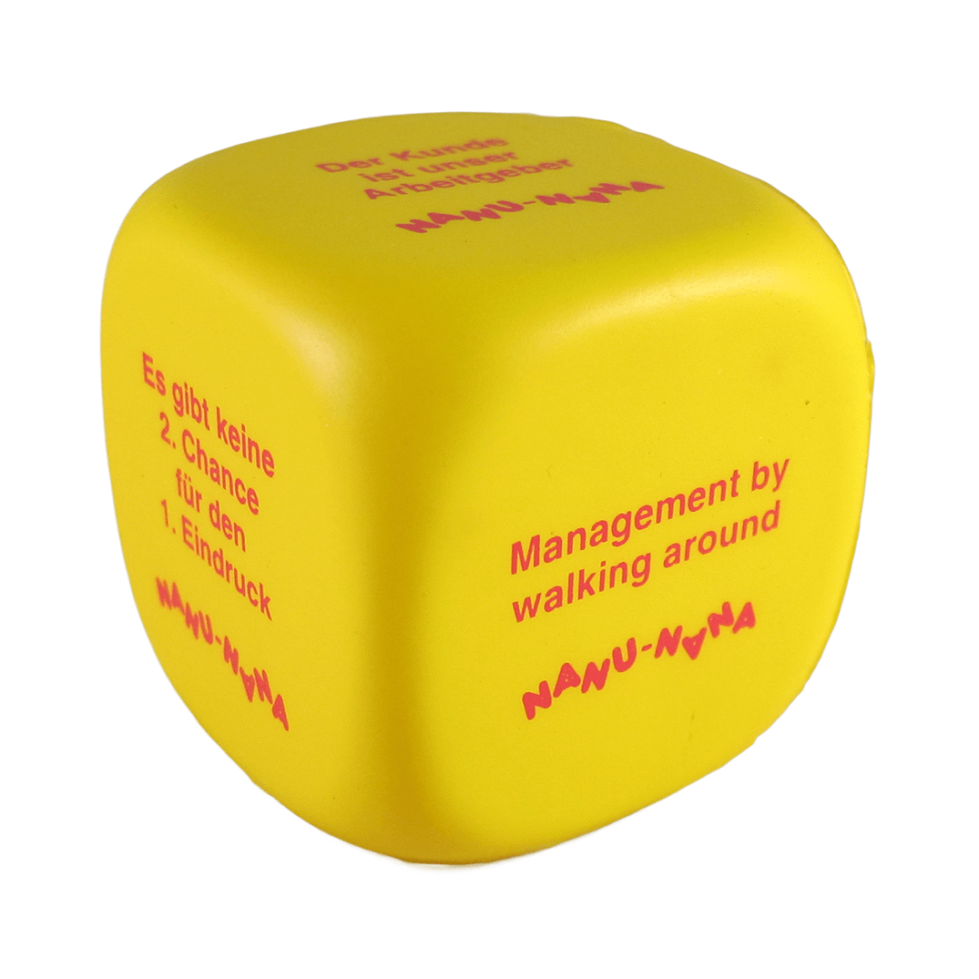 Decision Dice Yellow Front