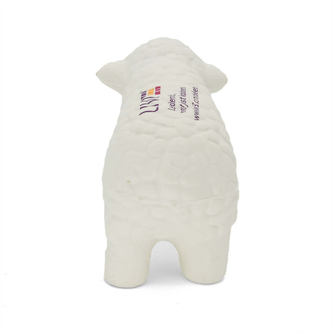 Sheep Stress Ball Rear View