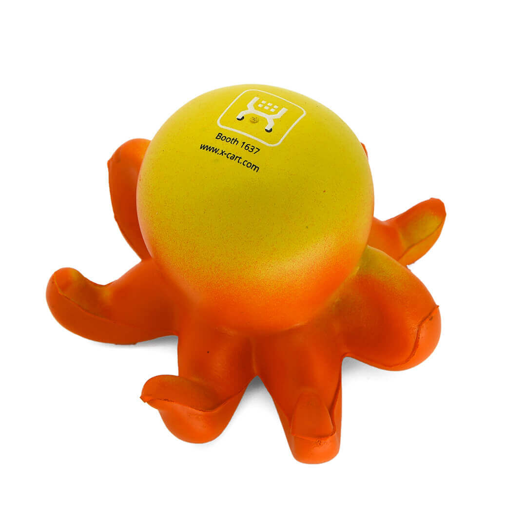 Octopus Stress Ball Alternate Rear View