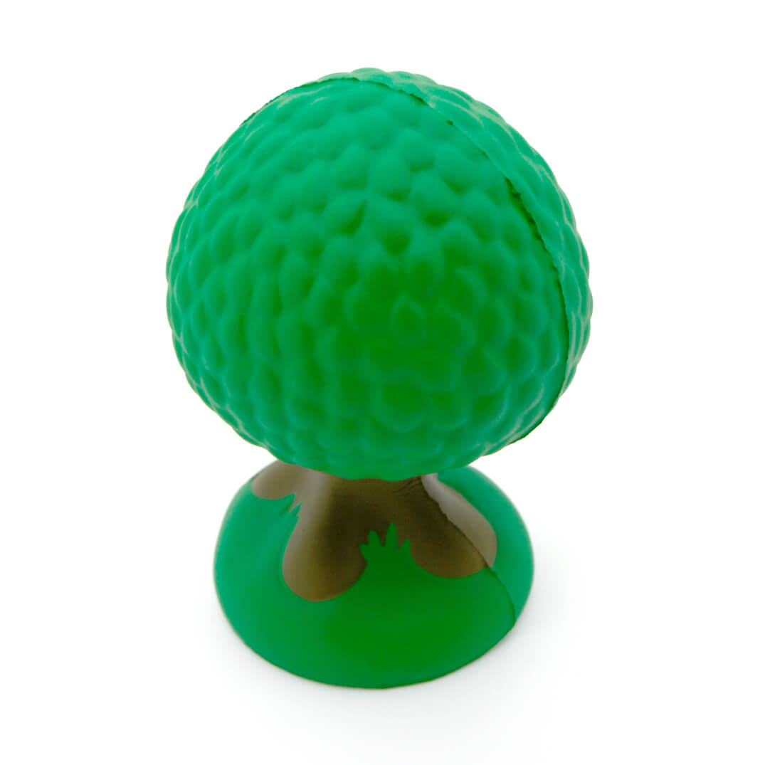 Tree Stress Ball Rear View
