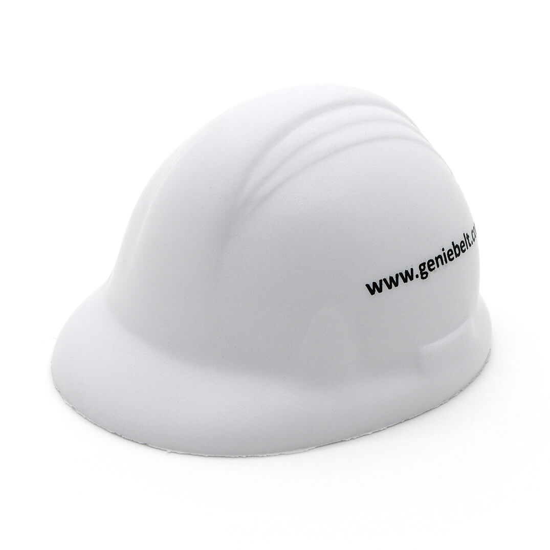 Hard Hat Stress Ball Side View