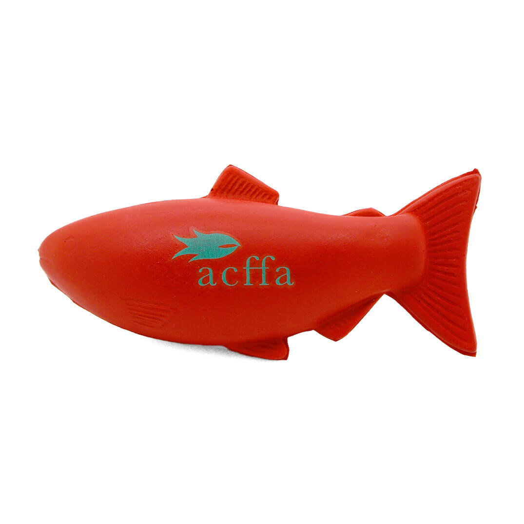 Red Salmon Stress Ball