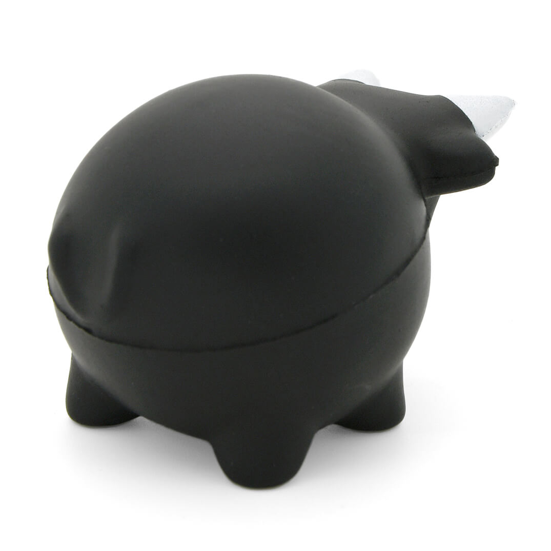 Chunky Bull Stress Ball Rear View