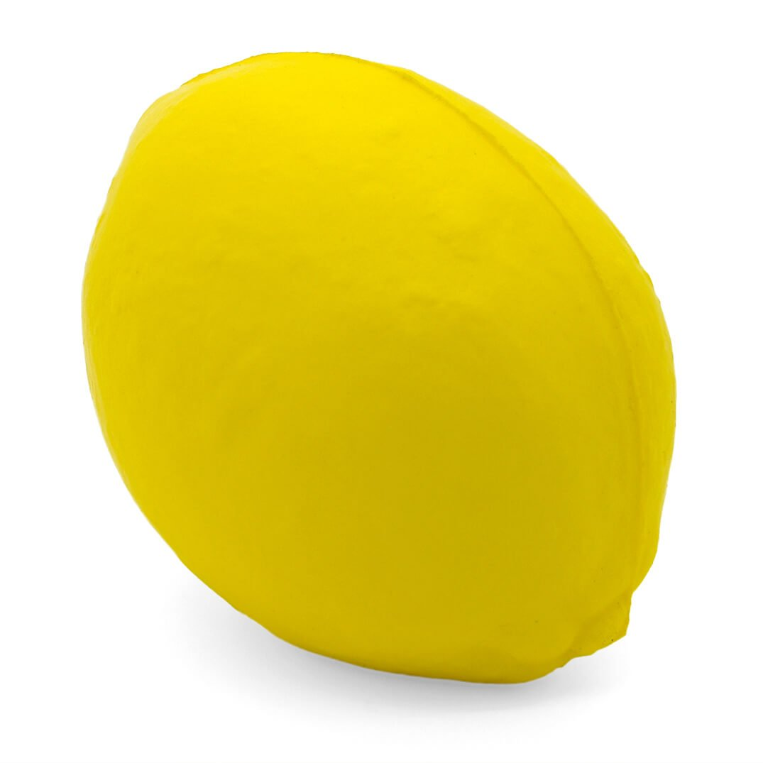 Lemon Stress Ball Rear View