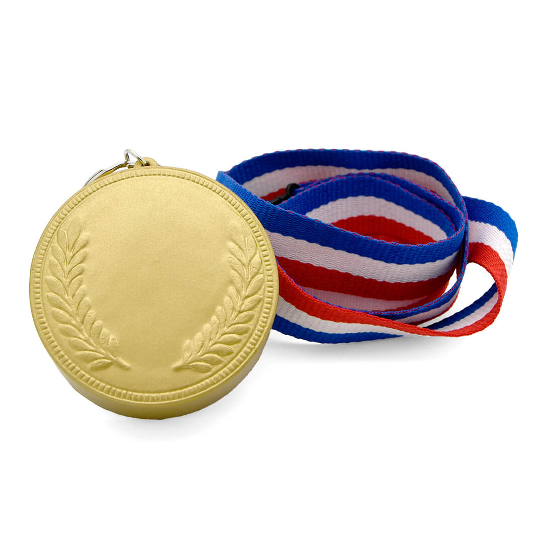 Medal Stress Ball in Gold Rear View