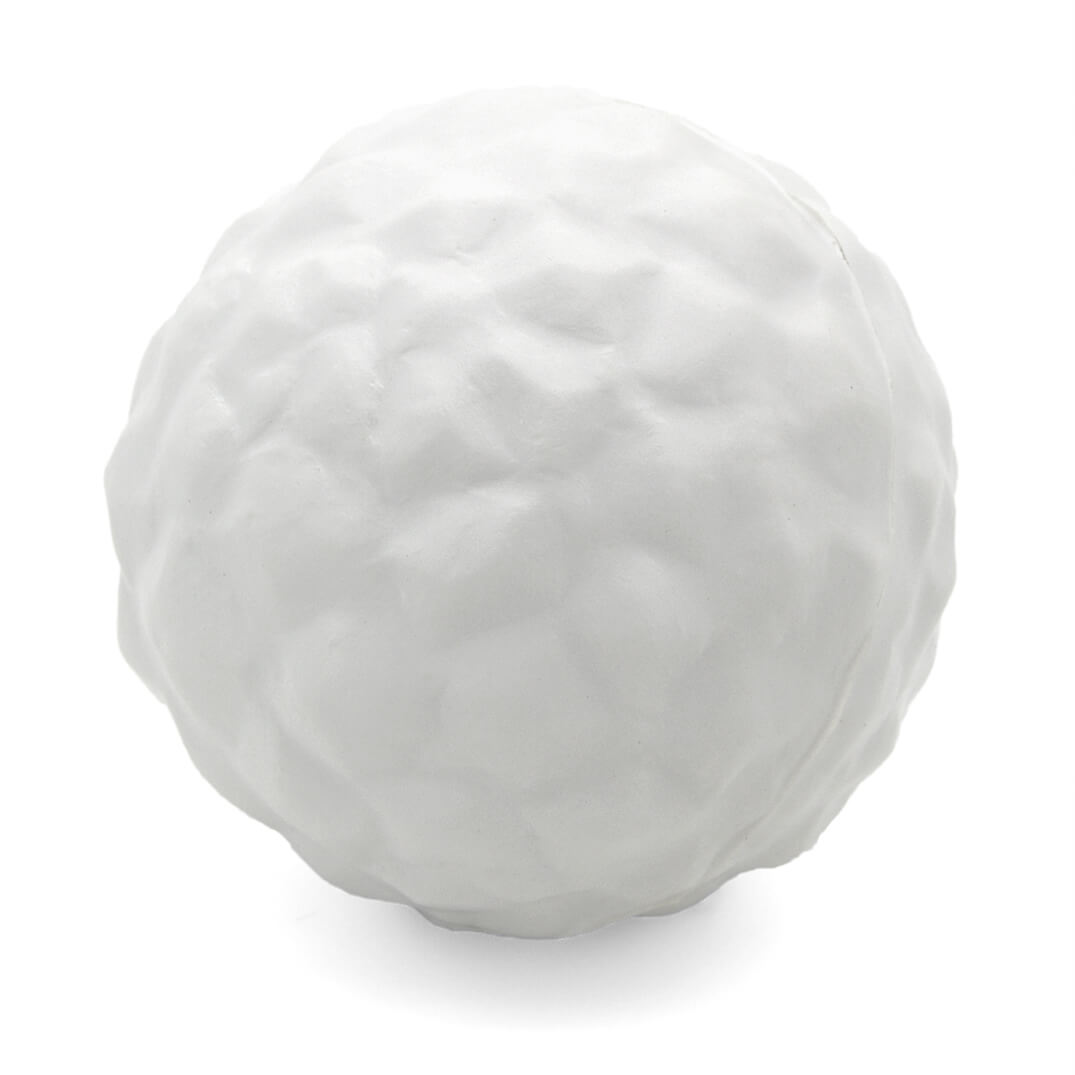 Snowball Stress Ball Rear View