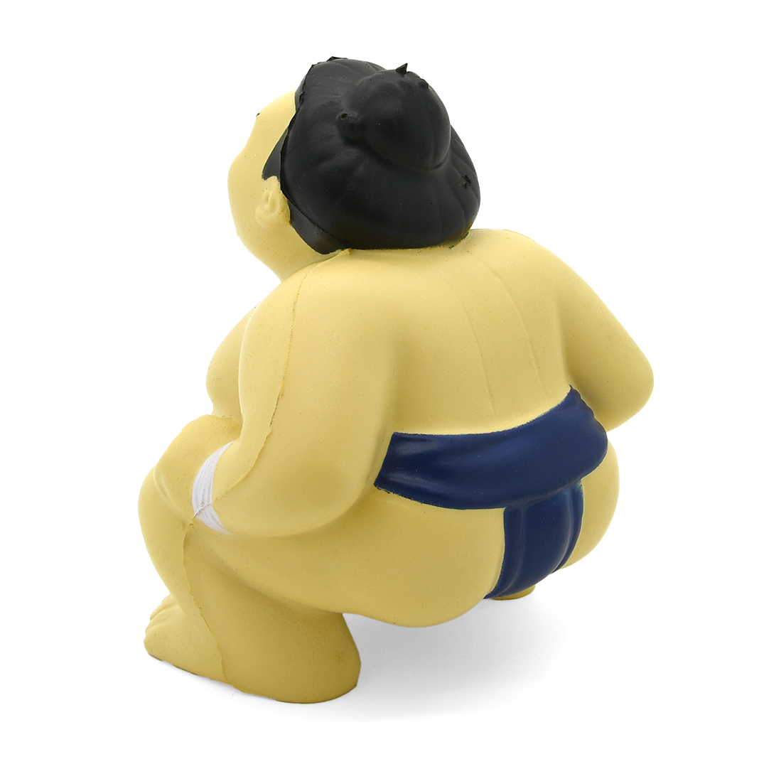Stress Sumo Wrestler Rear View