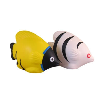 Tropical fish stress balls