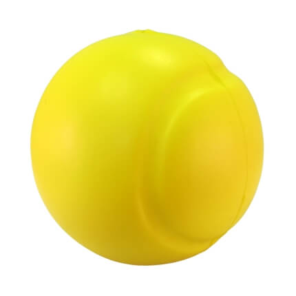 Tennis Stress Ball Back View