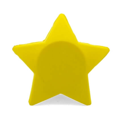 UK Made Star Stress Ball Rear View