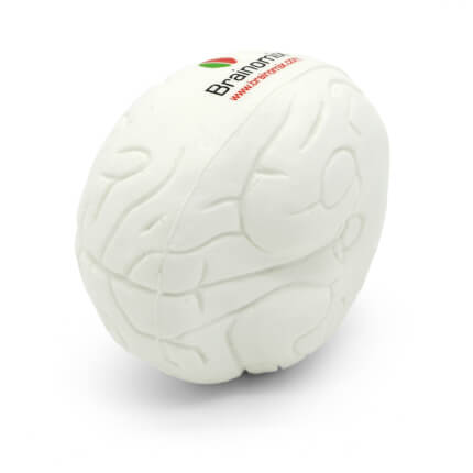 Small Brain Stress Ball Underside