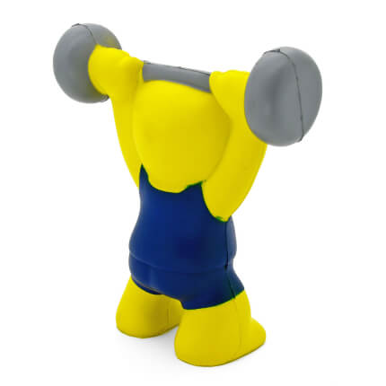 Stress Weight Lifter Rear View