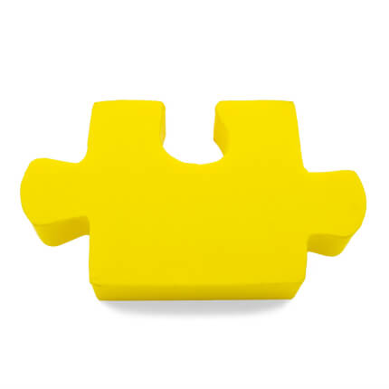 Yellow Stress Jigsaw Piece