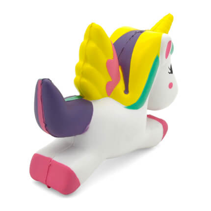 Unicorn Stress Ball Rear View