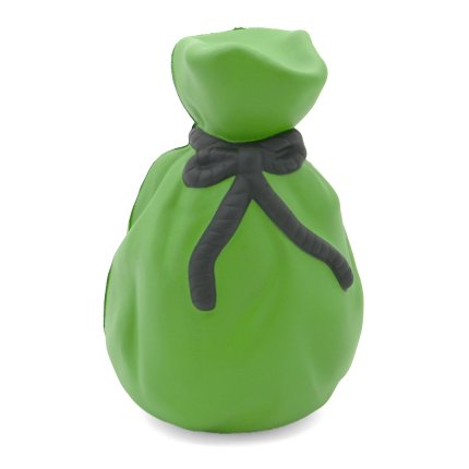 Money Bag Stress Ball Rear View