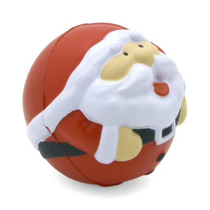 Santa Stress Ball Side View