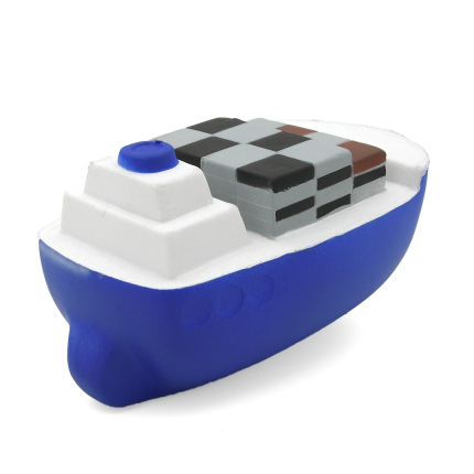 Container Ship Stress Ball Rear Stern View Alternate