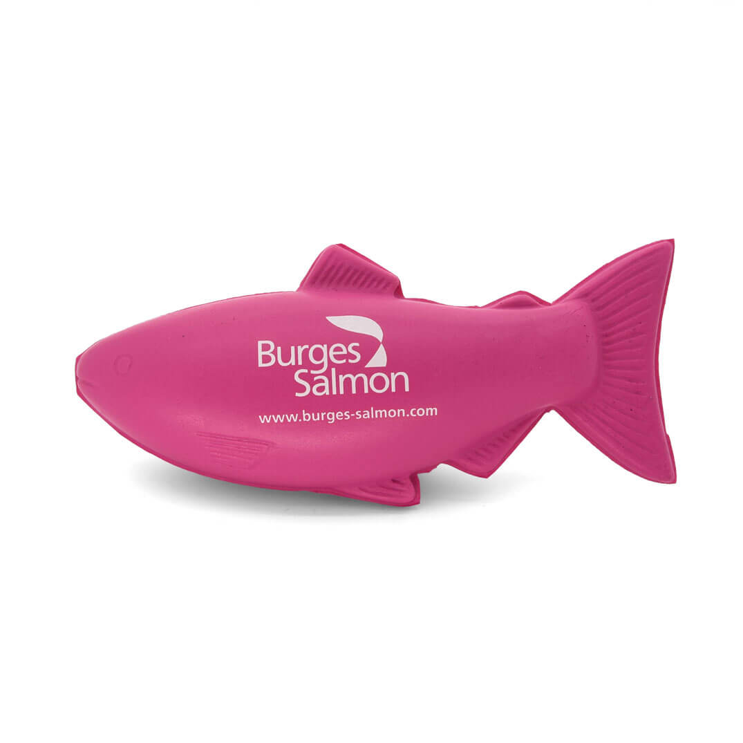 Burgess Salmon Fish Stress Ball