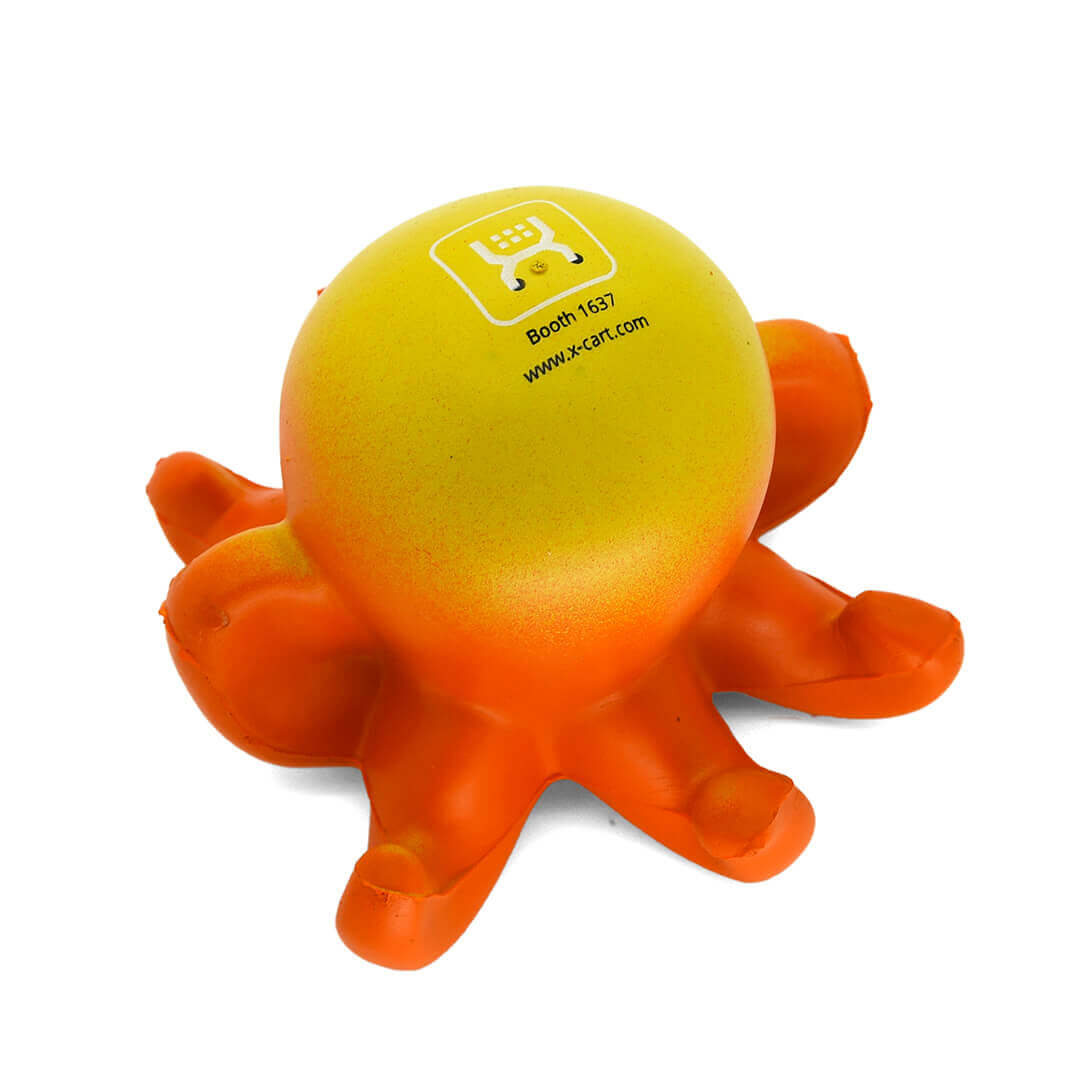 Octopus Stress Ball Rear View
