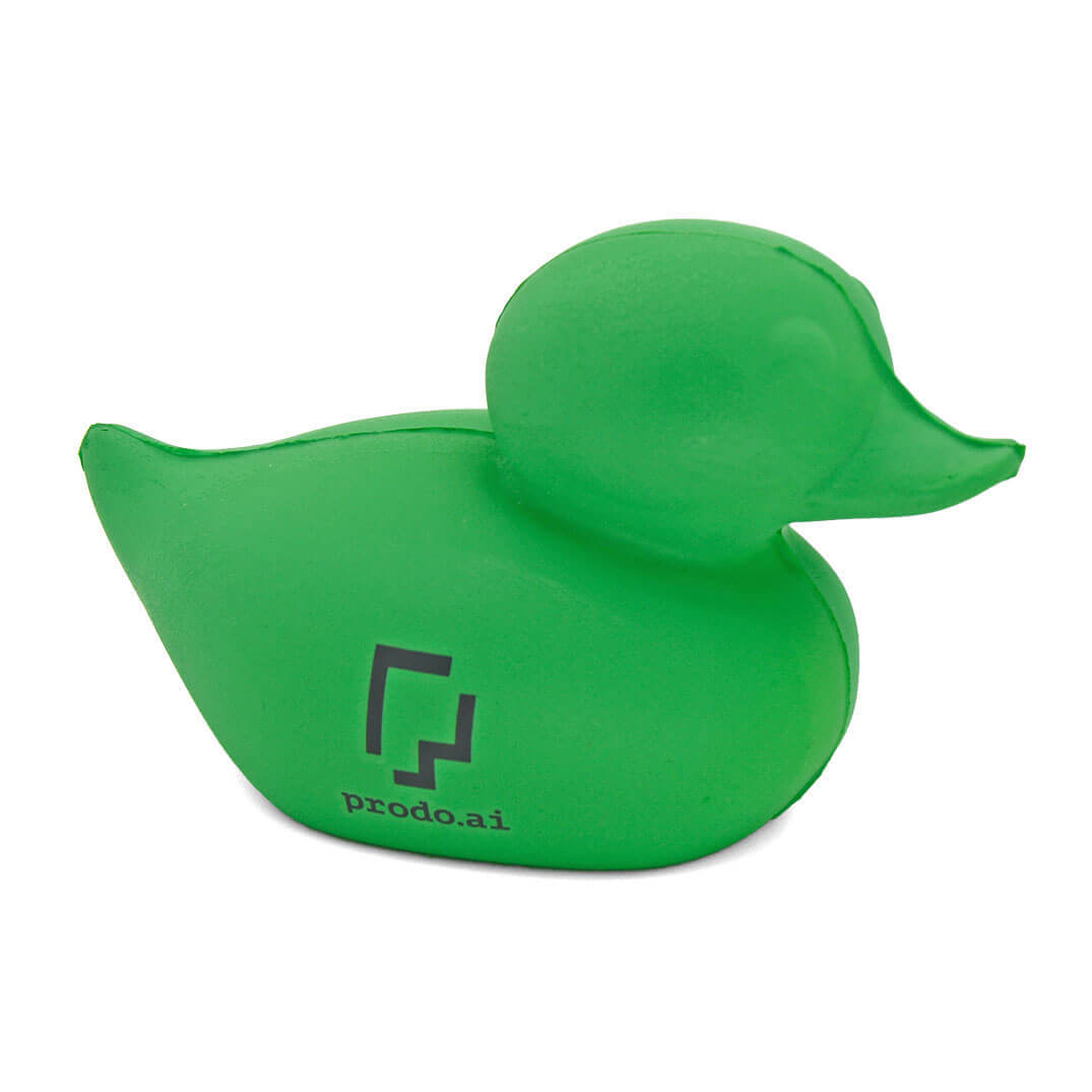 Pantone Matched Green Stress Duck
