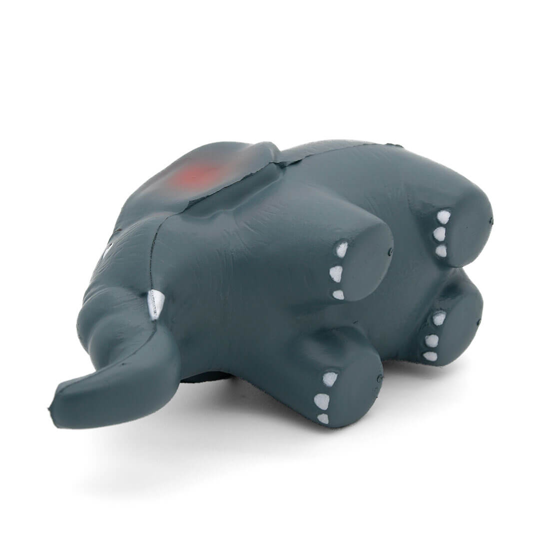 Elephant Stress Ball Underside