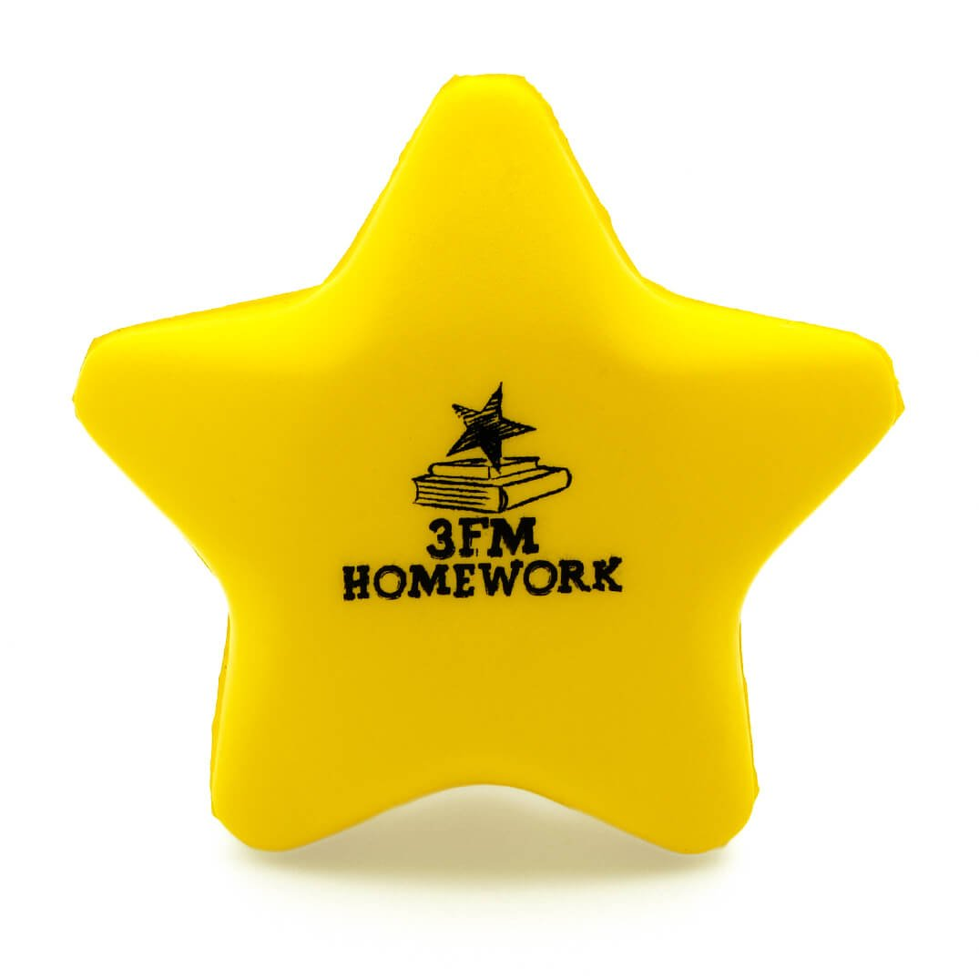 Yellow Stress Star Rear View